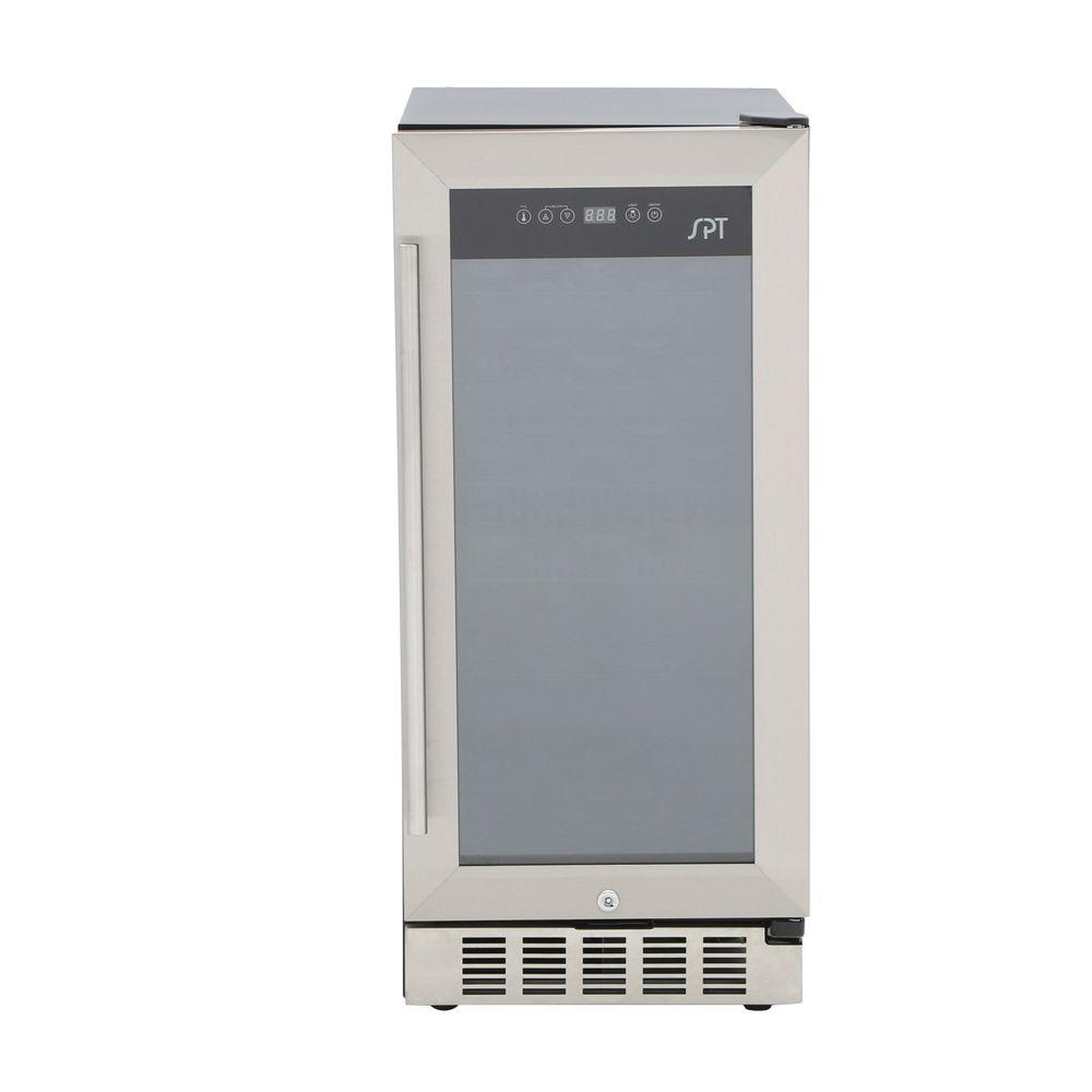SPT Under-Counter 32-Bottle Wine and Beverage Cooler