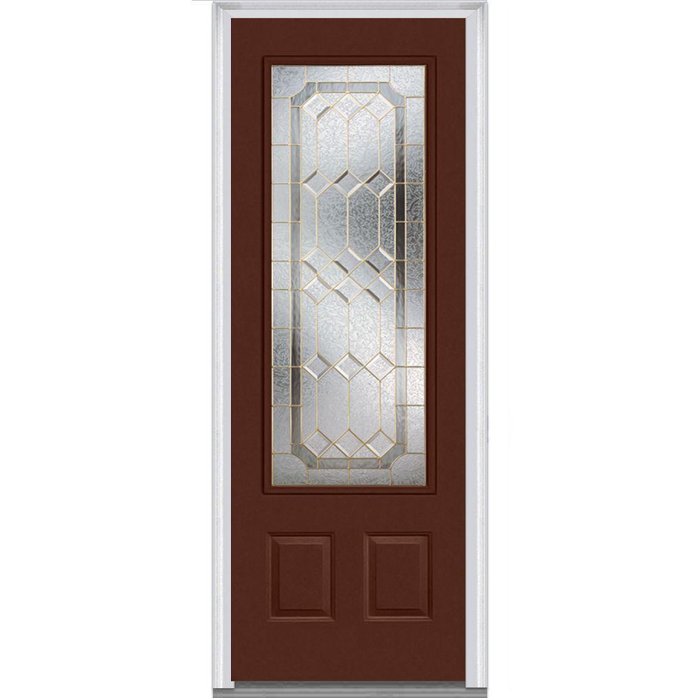 MMI Door 36 In. X 96 In. Majestic Elegance Right Hand Inswing 3