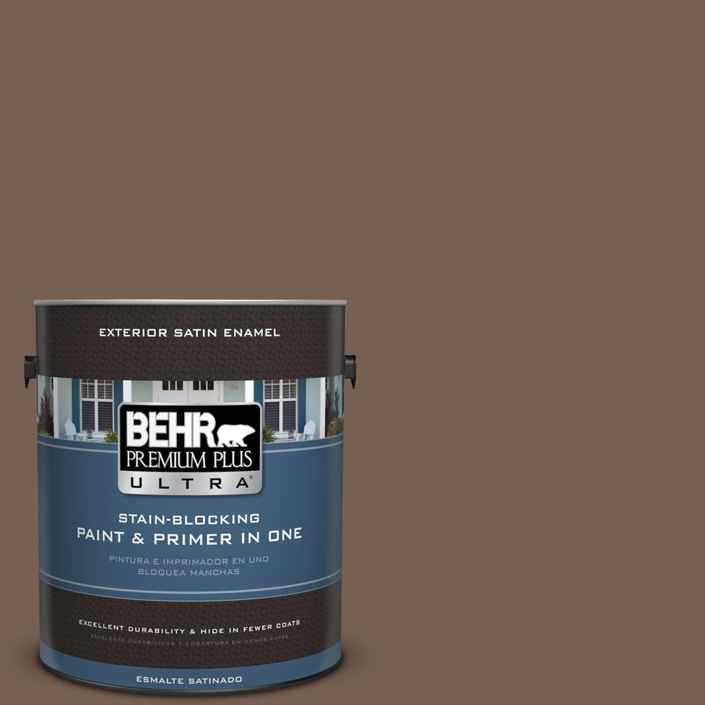 BEHR Premium Plus Ultra 1-gal. #760B-6 Traditional Satin Enamel Exterior Paint