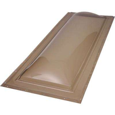 14-1/2 in. x 46-1/2 in. Fixed Self Flashing Polycarbonate Skylight