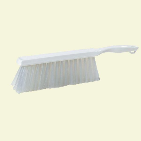 8 in. White Polyester Bench Brush (12-Pack)