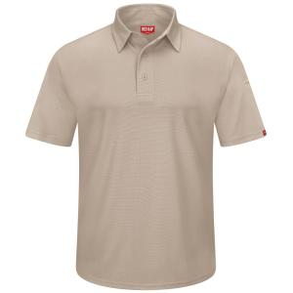 2e6e883a Red Kap Men's Size 6XL White Professional Polo-SK90WH SS 6XL - The ...