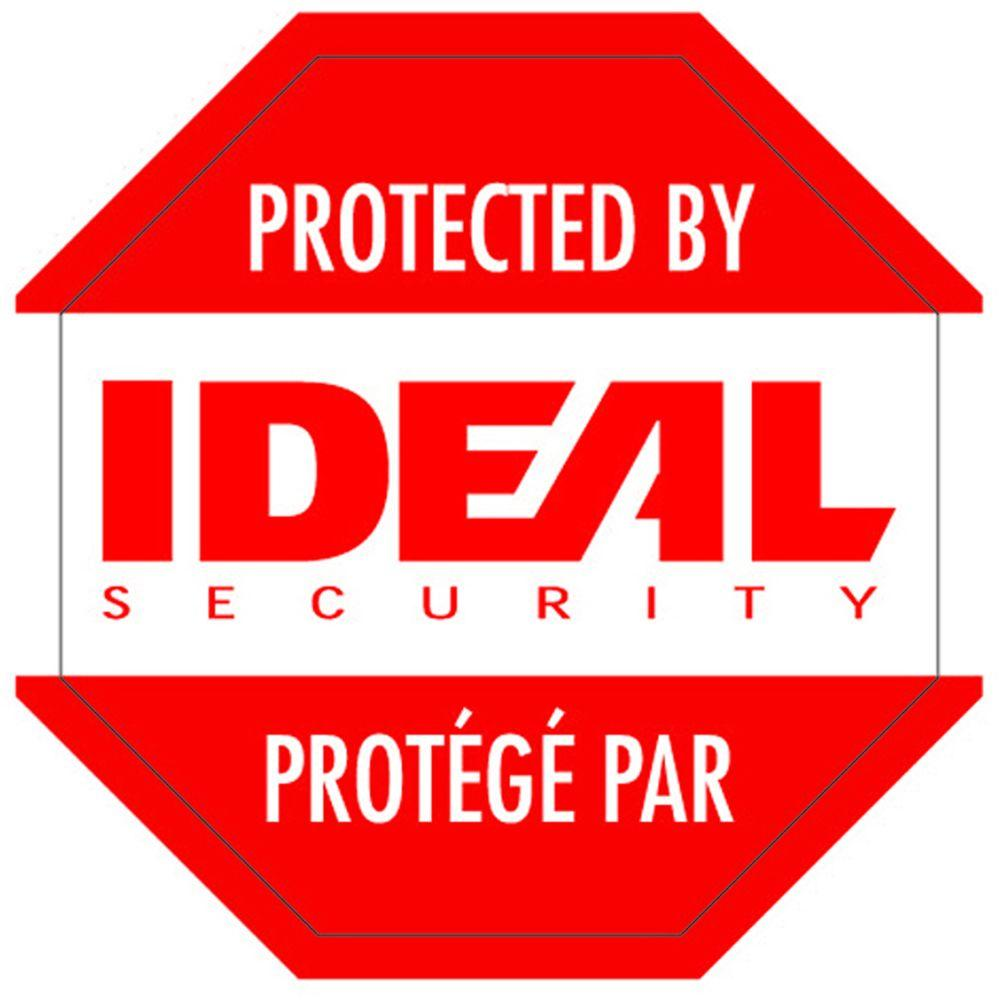 IDEAL Security Security Warning Stickers