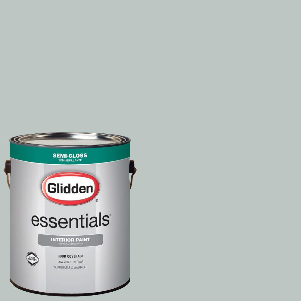 Hdgcn19 Icy Teal Semi Gloss Interior Paint