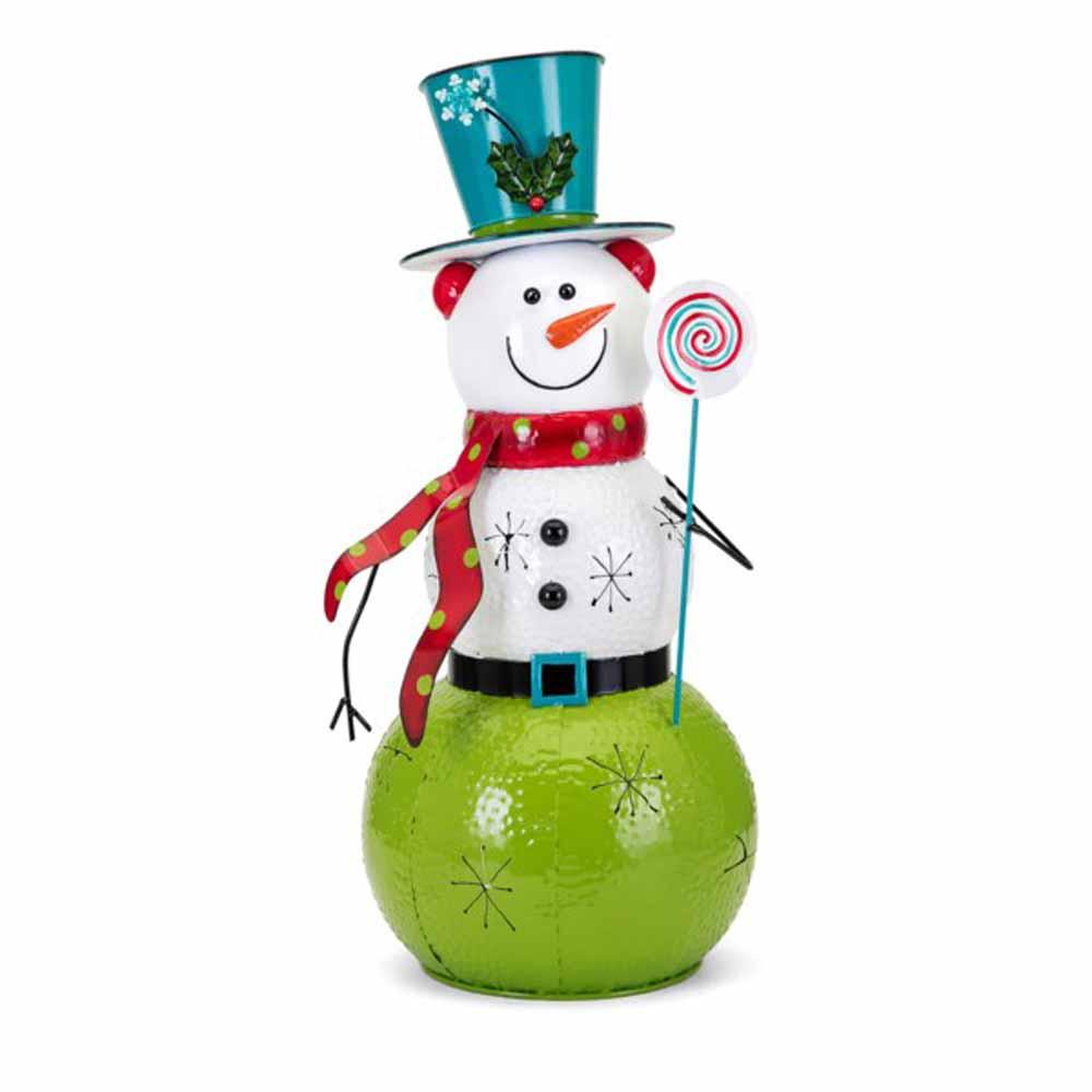 Whimsy Christmas Large Snowman Lantern