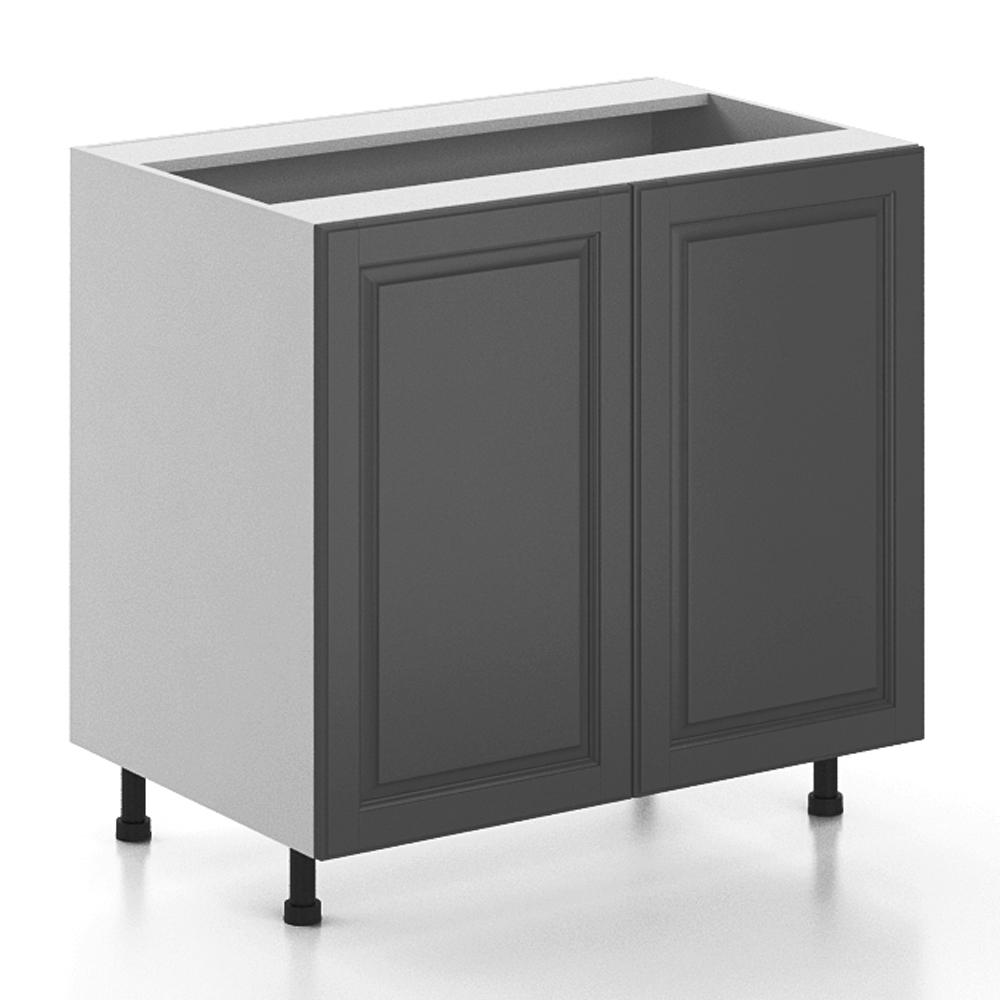 fabritec ready to assemble in buckingham full height base cabinet in white. Black Bedroom Furniture Sets. Home Design Ideas