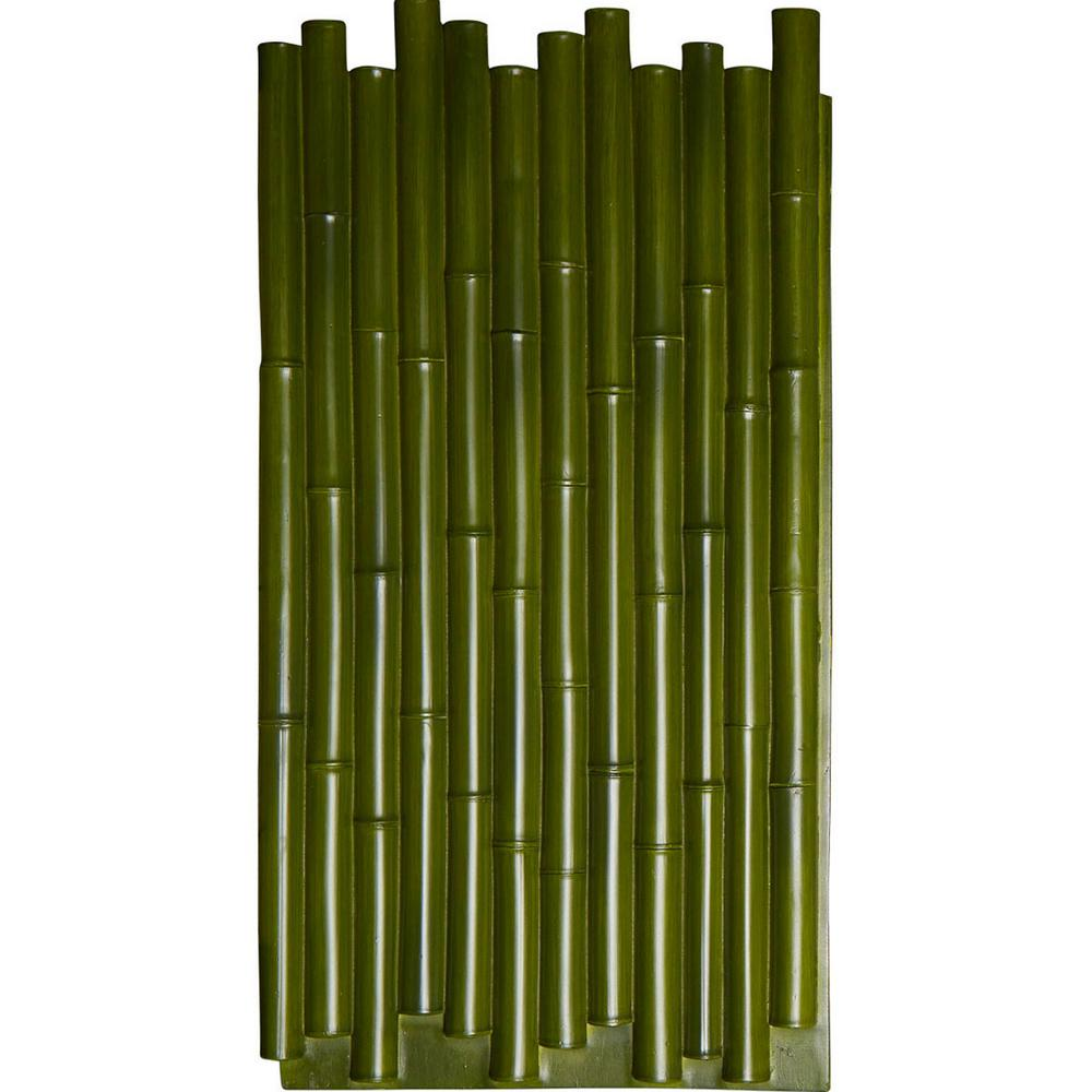 1-3/8 in. x 24-1/2 in. x 49-7/8 in. Green Urethane Bamboo