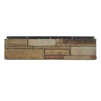 8 in. x 36 in. Versetta Stone Flat Ledgestone Plum Creek Siding (6-Bundles)