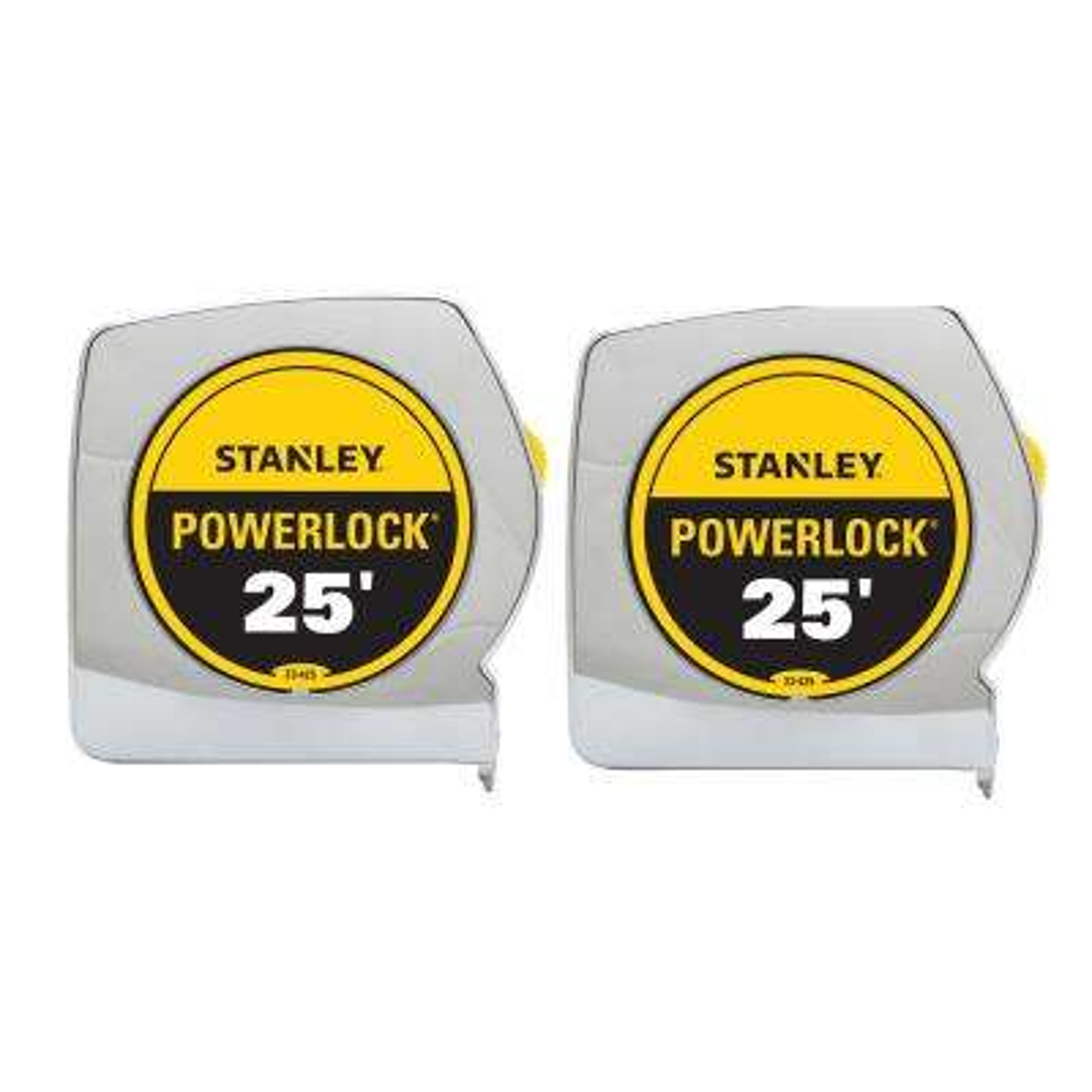 Powerlock 25 ft. Tape Measure Set (2-Pack)