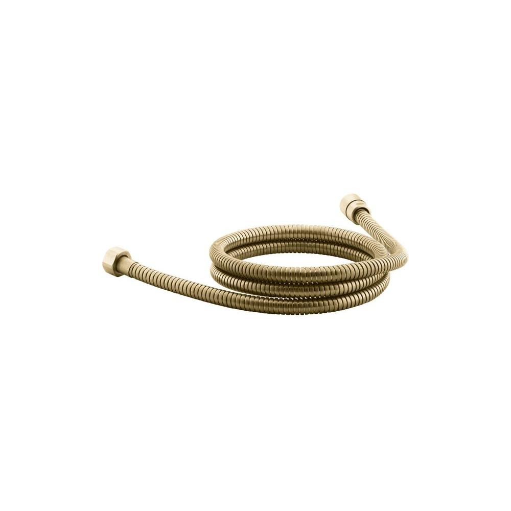 MasterShower 60 in. Shower Hose in Vibrant Moderne Brushed Gold