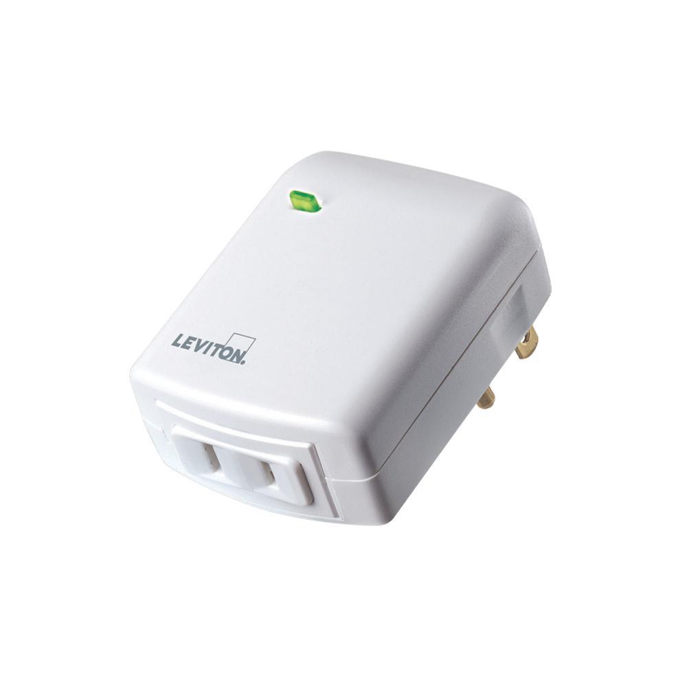 Decora Smart 300-Watt Single Pole Plug-In Dimmer, Zigbee Certified