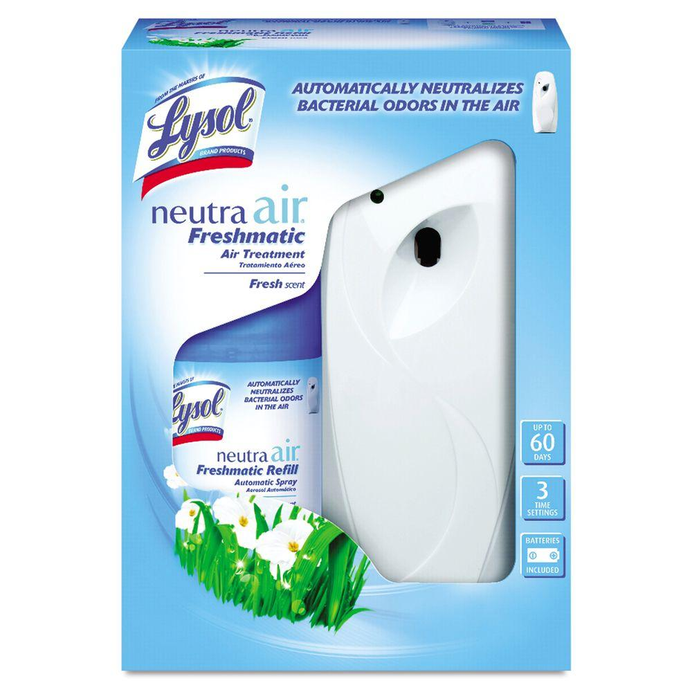 Lysol Lysol Neutra Air 6.17 oz. Fresh Scent Freshmatic Automatic Spray Starter Kit, White
