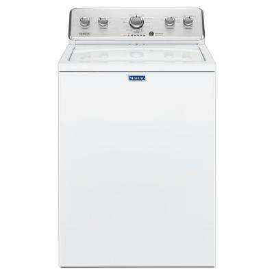 3.8 cu. ft. High-Efficiency White Top Load Washing Machine with Deep Fill Option