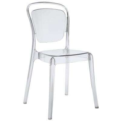 Entreat Clear Dining Side Chair