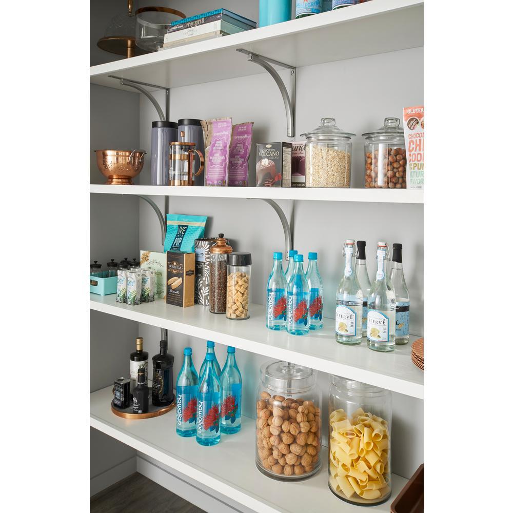 ClosetMaid 12 In X 72 Solid Wood Shelf Kit White