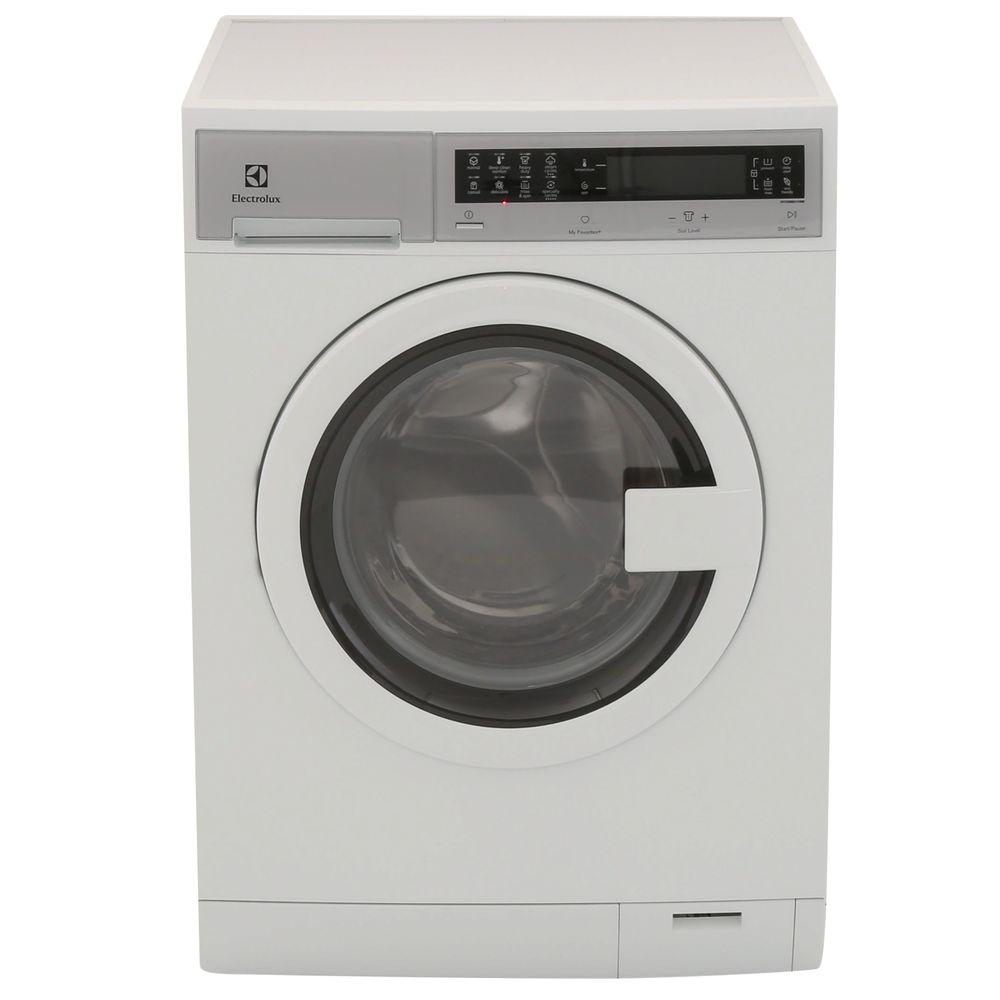 ELECTROLUX IQ Touch 24 in. W 2.4 cu. ft. High Efficiency Front Load Washer with Steam in White, ENERGY STAR