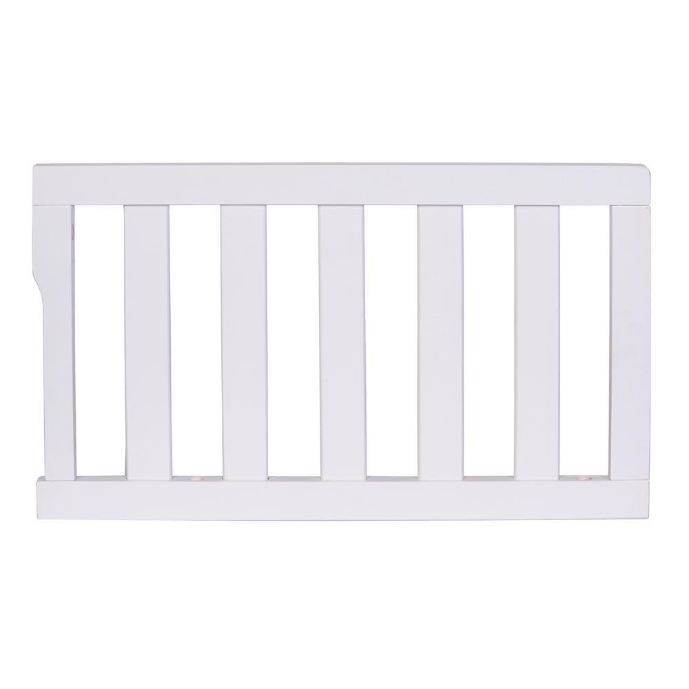 Dream On Me Universal White Toddler Rail (1-Pack)