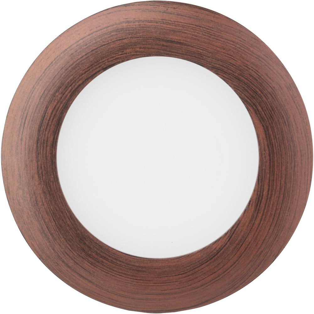 Oil-Rubbed Bronze Integrated LED Recessed Kit Lithonia Lighting Wafer 3 in