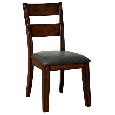 DICKINSON I Dark Cherry Cottage Style Side Chair