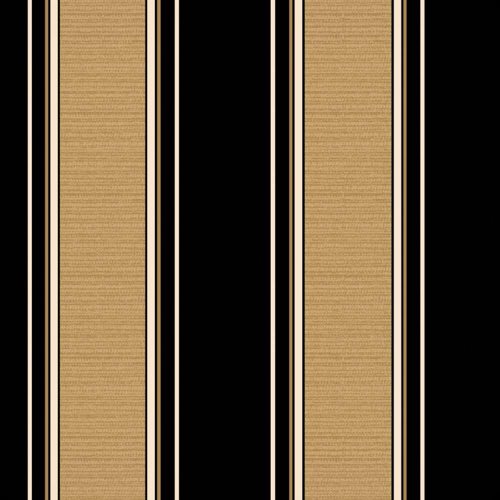 Hampton Bay New Twilight Stripe With Roux Outdoor Fabric By The Yard