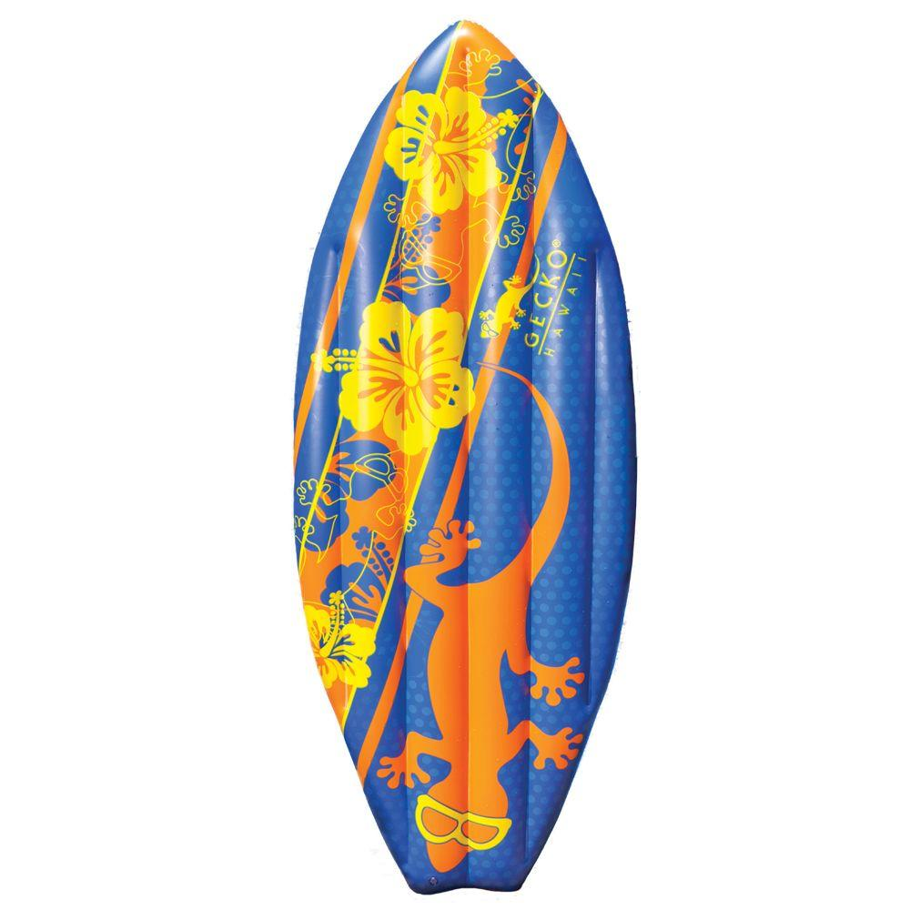 Gecko Hawaii Surfboard Mattress Swimming Pool Float