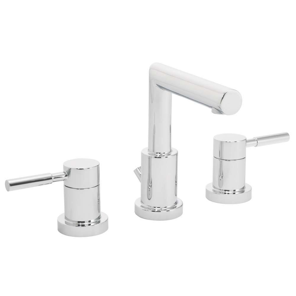 Speakman neo 8 in widespread 2 handle bathroom faucet - Polished chrome bathroom faucets ...