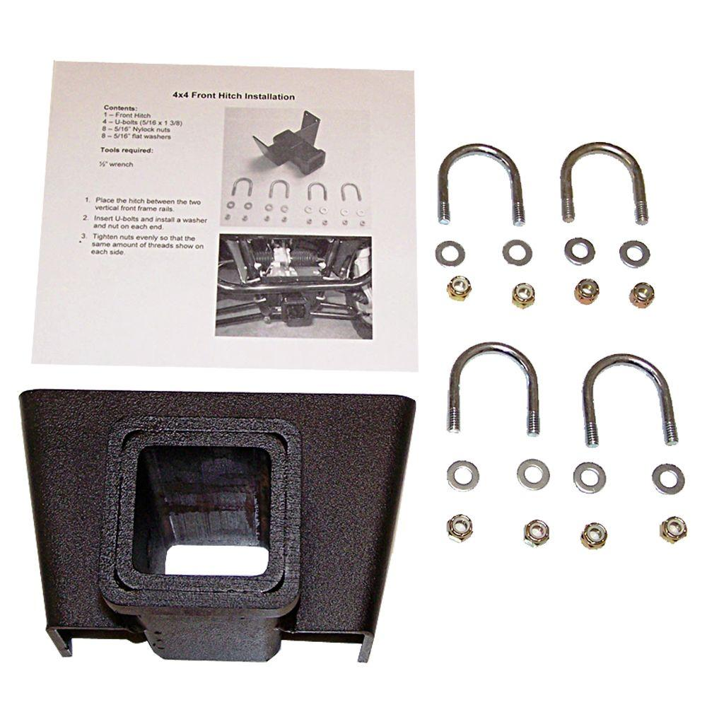 2 in. 4 WD Front Receiver Hitch