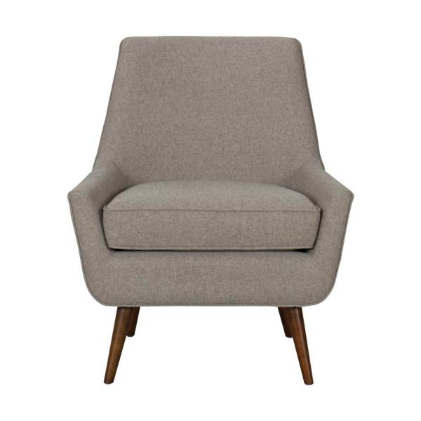 Homepop Citron Green Chadwick Armless Accent Chair K7043-F2234