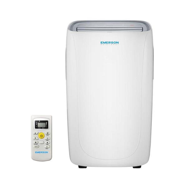 Emerson Quiet Kool 14,000 BTU Portable Air Conditioner with Dehumidifier and Remote