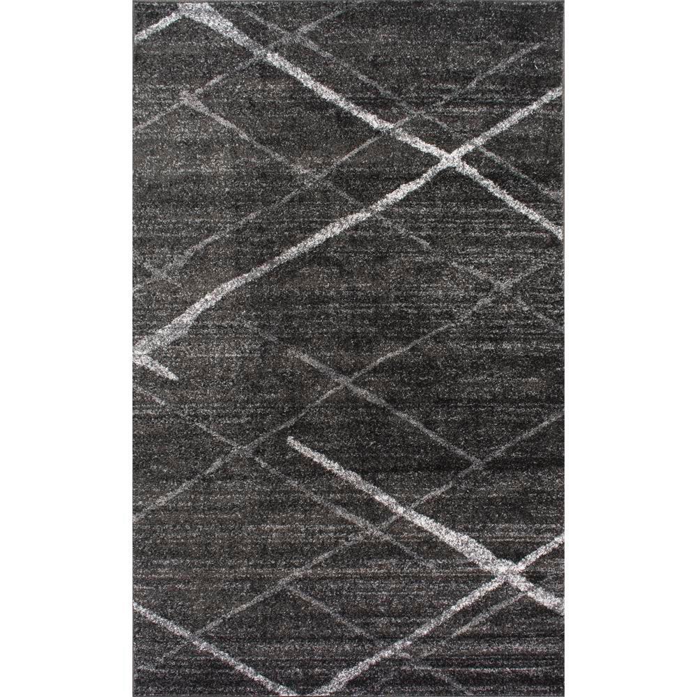 Thigpen Dark Grey 6 ft. 7 in. x 9 ft. Area Rug