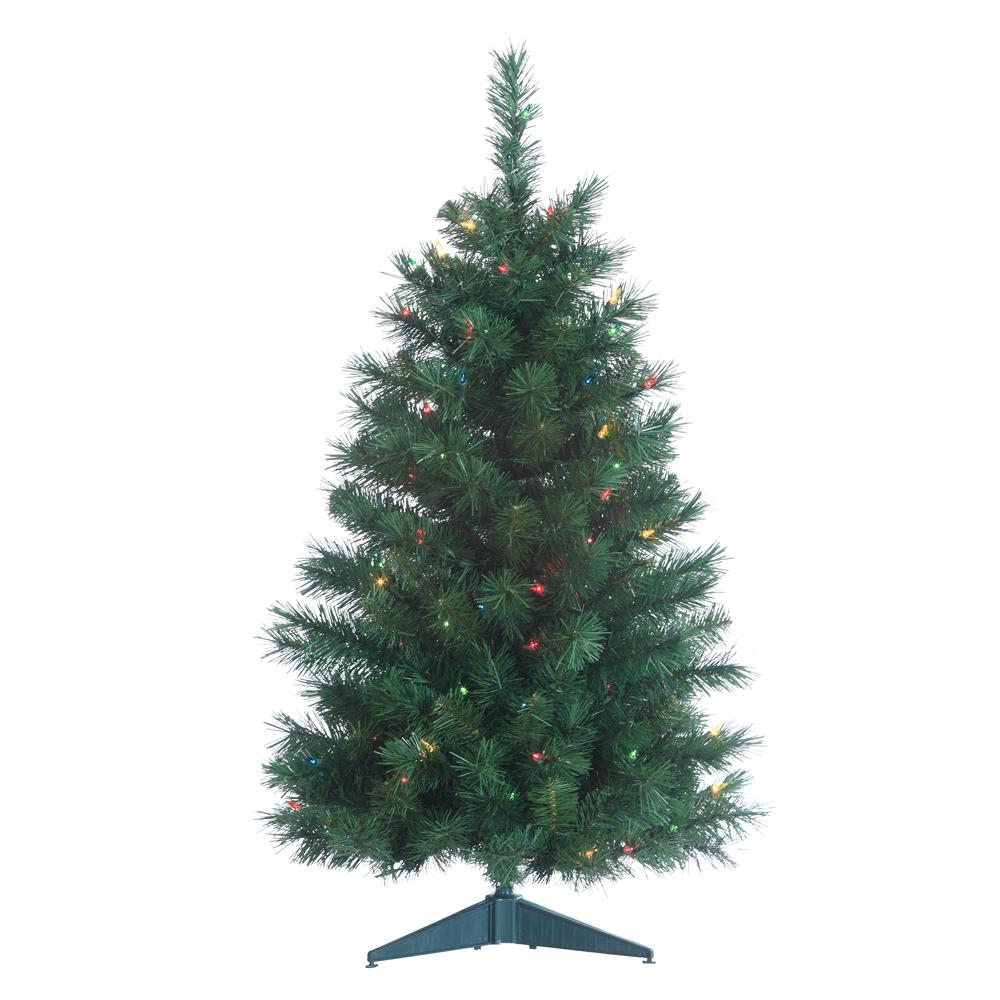 Sterling 3 ft. Pre-Lit Colorado Spruce Artificial ...