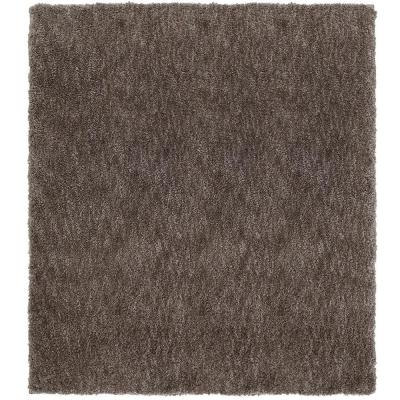 Ethereal Shag Taupe 8 ft. x 8 ft. Square Indoor Area Rug
