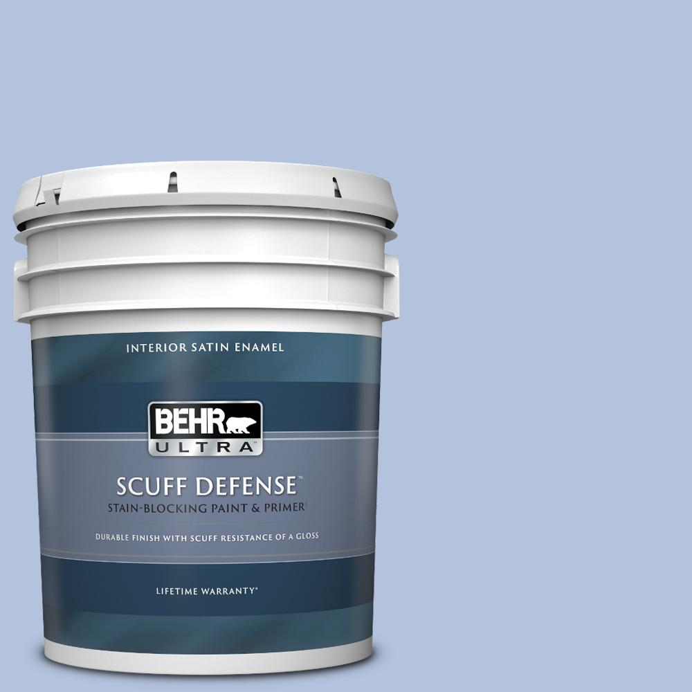 Behr Ultra 5 Gal M540 3 Eternal Elegance Extra Durable Satin Enamel Interior Paint Primer 775005 The Home Depot
