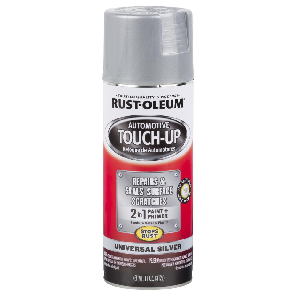 Rust Oleum Automotive 11 Oz Universal Silver Touch Up Spray Case Of 6 292326 The Home Depot