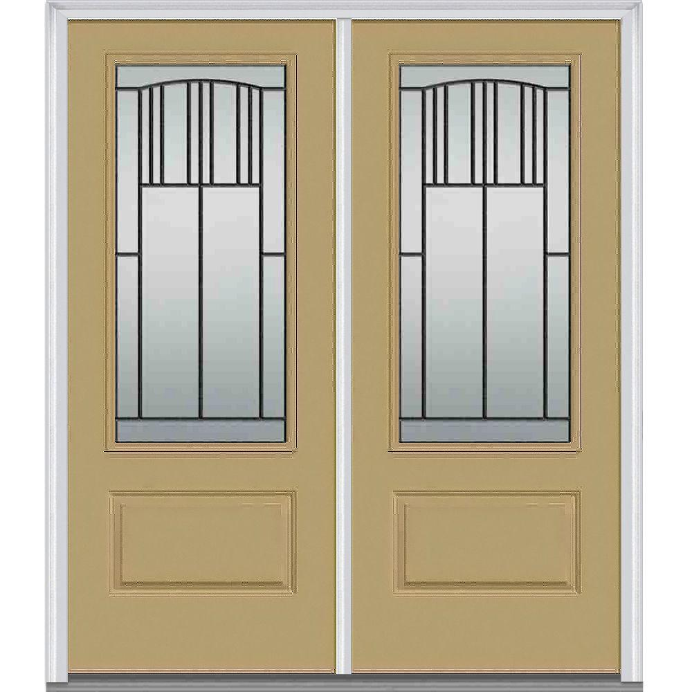 MMI Door 72 in. x 80 in. Madison Right-Hand Inswing 3/  sc 1 st  The Home Depot & MMI Door 72 in. x 80 in. Madison Right-Hand Inswing 3/4-Lite ...