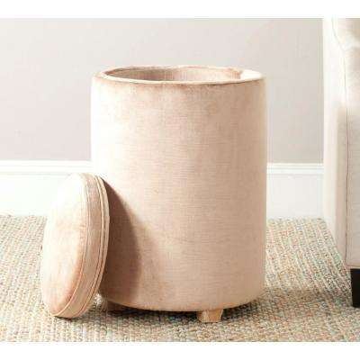 Jeanine Mink Brown End Table