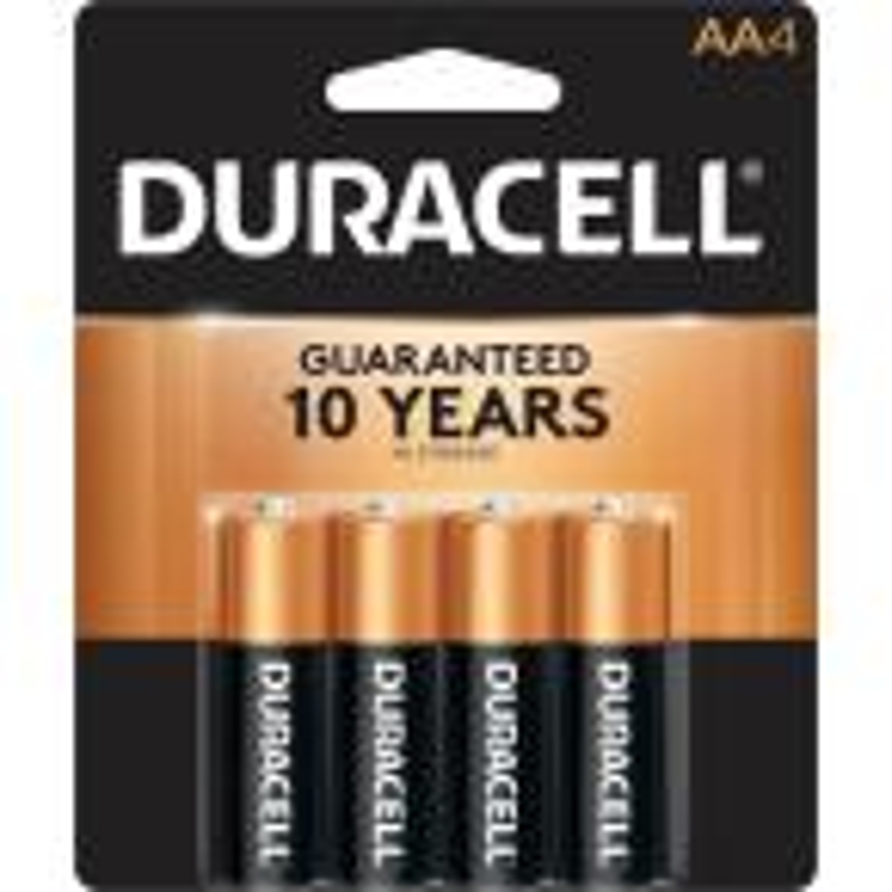 Coppertop AA Alkaline Battery (4-Pack)
