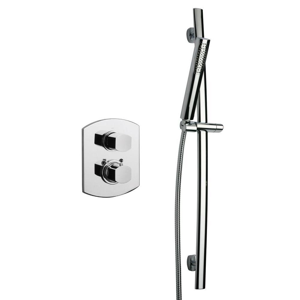Novello Shower System 1 in Chrome