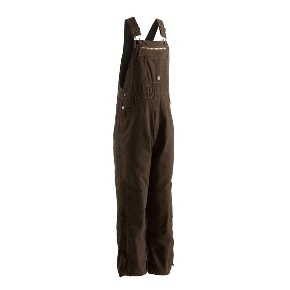 Men's 44 in. x 30 in. Bark 100% Cotton Traditional Washed