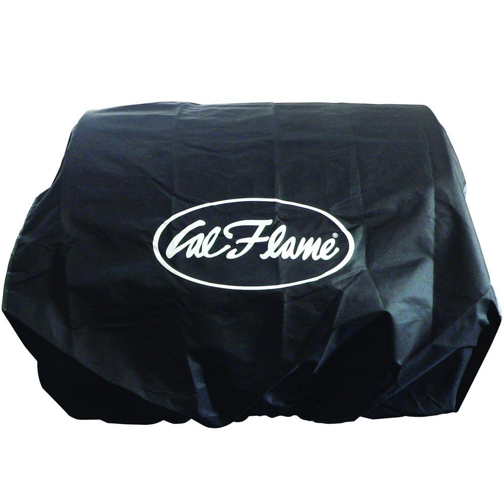 Cal Flame Adjustable Black Universal Grill Cover