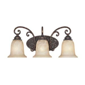 Click here to buy Designers Fountain Somerset 3-Light Burnt Umber Wall Light by Designers Fountain.