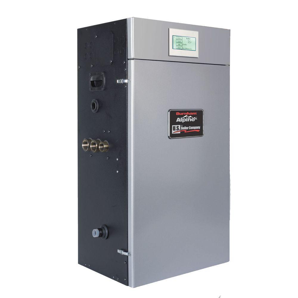null Alpine Gas Condensing Water Boiler with 80,000 BTU
