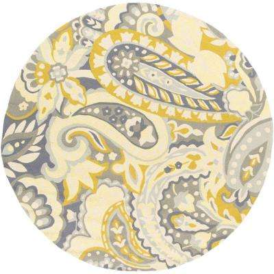 Round - Gold - Outdoor Rugs - Rugs - The Home Depot