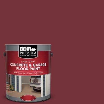 1 gal. #PPF-01 Tile Red 1-Part Epoxy Concrete and Garage Floor Paint