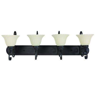 4-Light Sierra Slate Vanity Light
