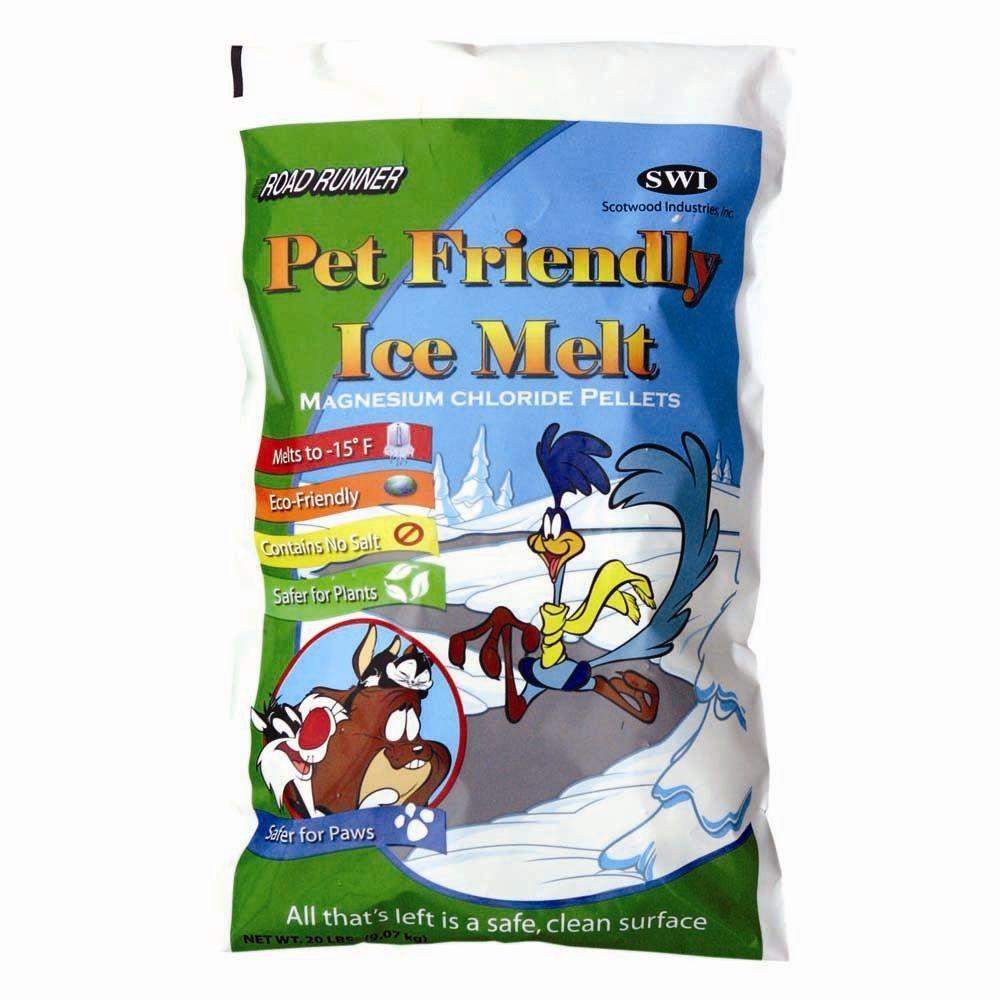 Road Runner 20 lb. Pet Friendly Ice Melt Bag