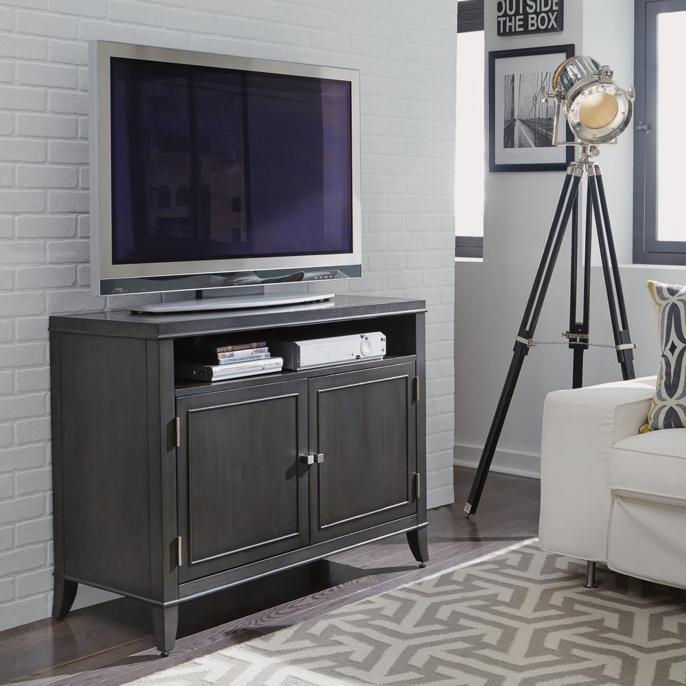 5th Avenue TV Entertainment Stand in Gray Sable
