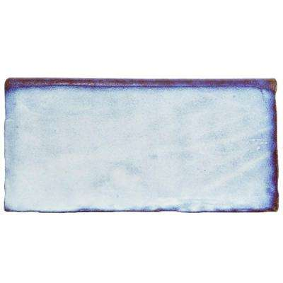 Antic Special Via Lactea 3 in. x 6 in. Ceramic Bullnose Wall Trim Tile