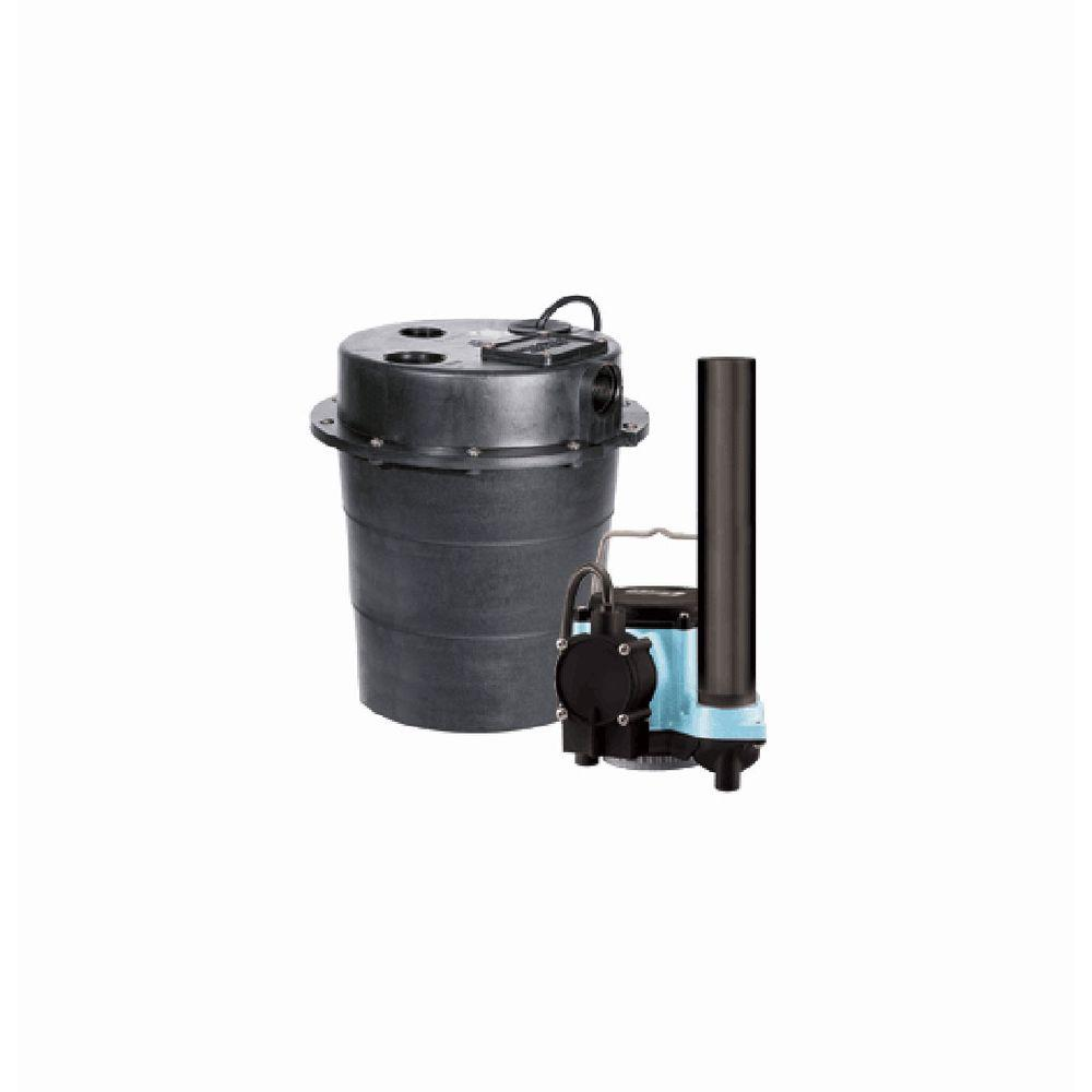 WRS-6 Drainosaur 0.3 HP Water Removal Pump System