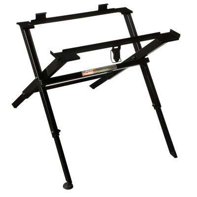 Compact Folding Table Saw Stand
